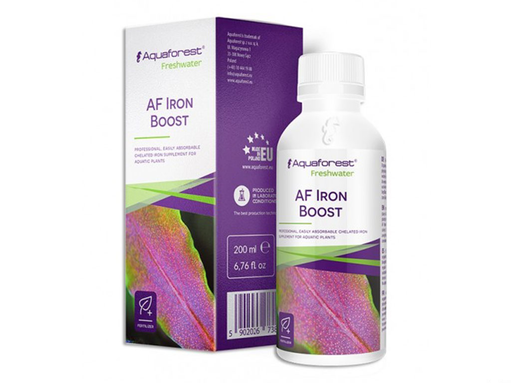 Fertilizant fier Aquaforest AF Iron Boost 200ml