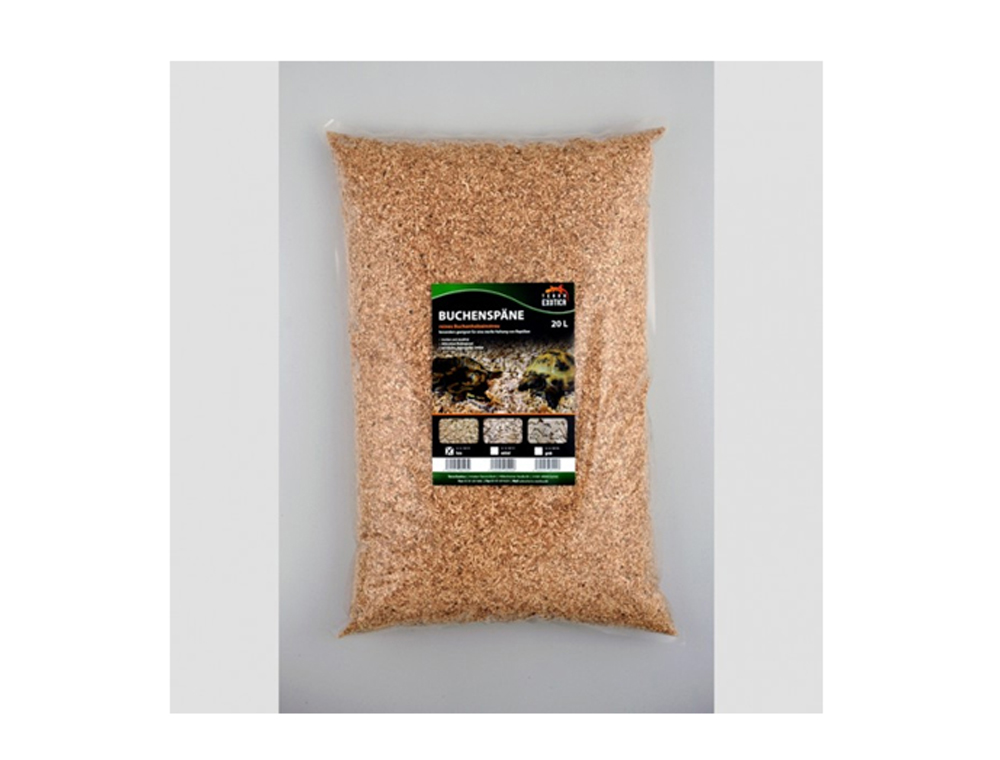 Asternut reptile Beech wood chips