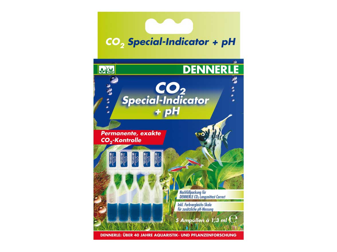 Solutie CO2 Dennerle Special-Indicator 5 fiole