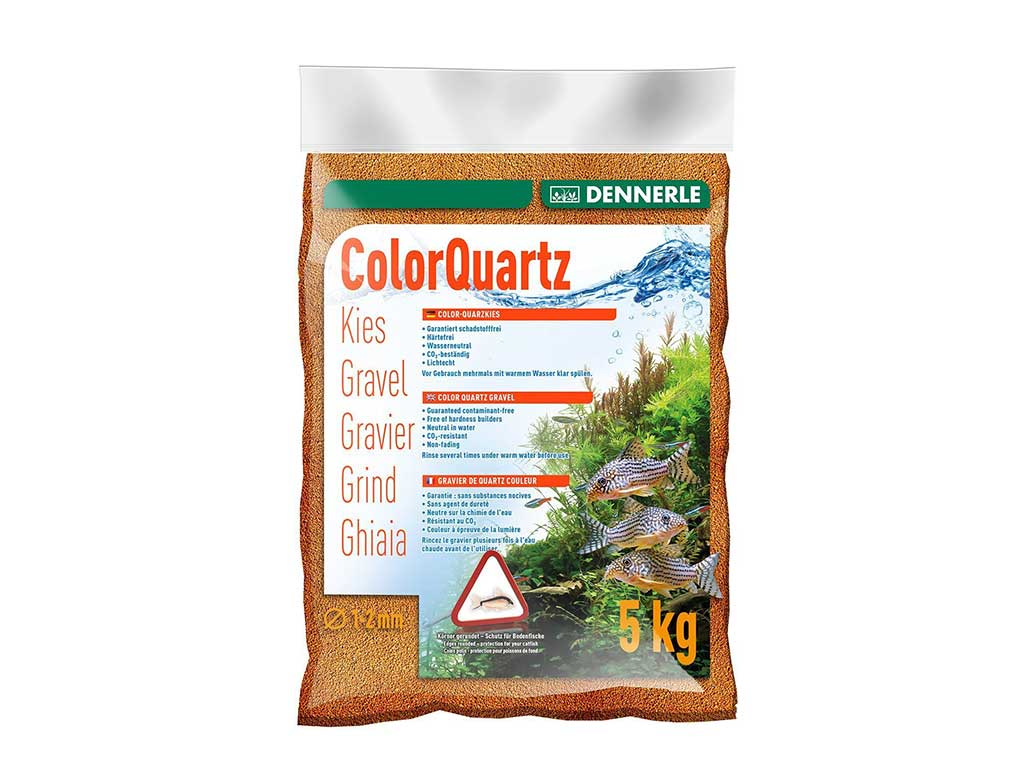 Nisip Dennerle color quartz orange 5kg