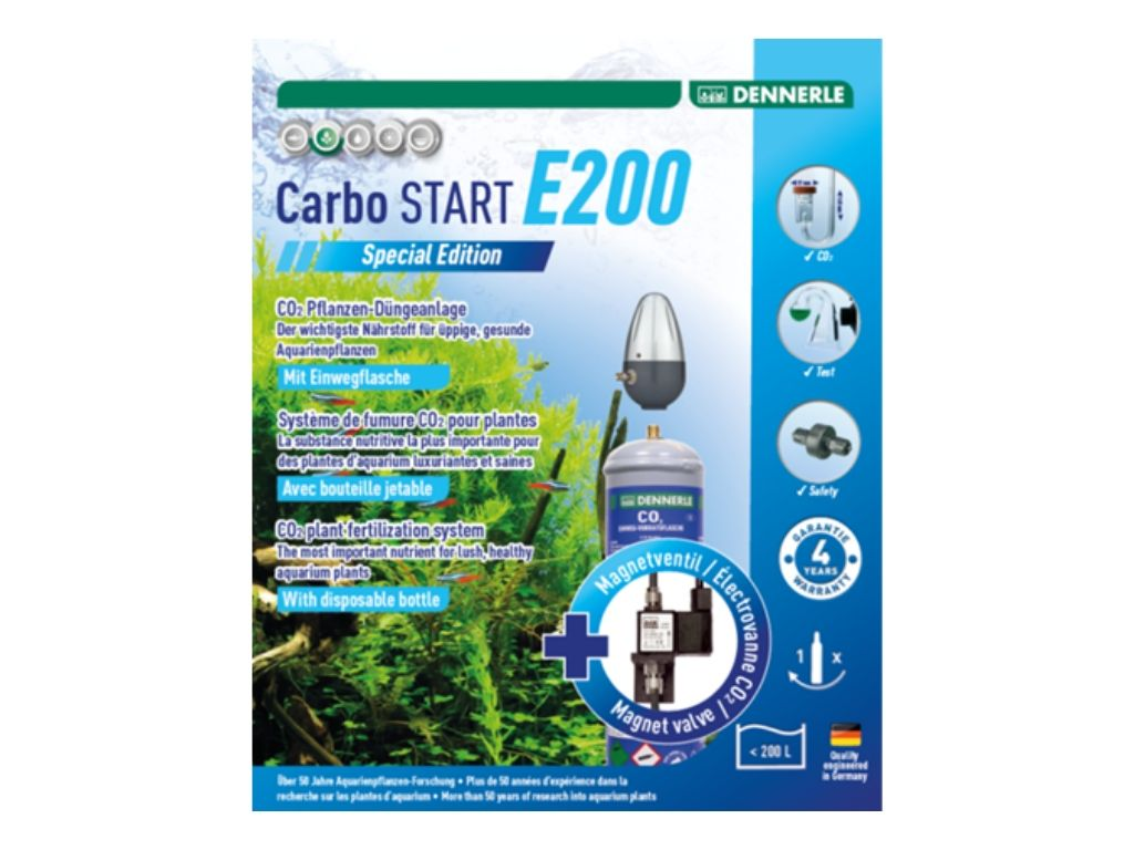 Set complet CO2 Dennerle Carbo START E200 Special Edition