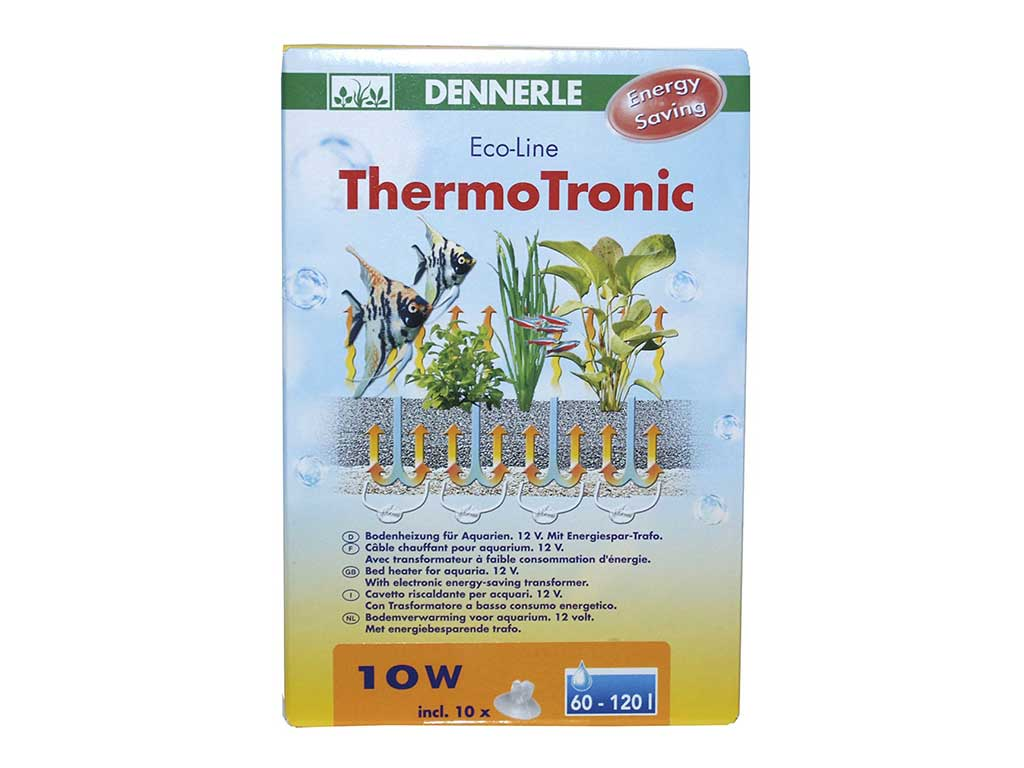 Incalzitor substrat Dennerle EcoLine ThermoTronic 10W pt 60-120l