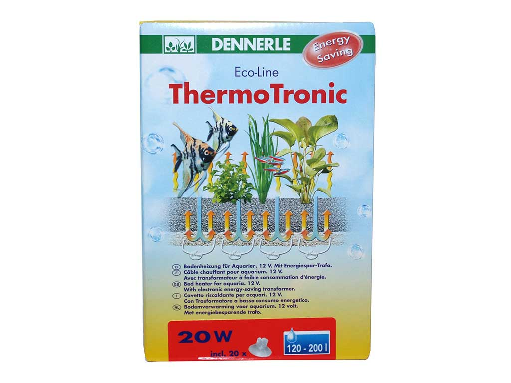 Incalzitor substrat Dennerle EcoLine ThermoTronic 20Wpt 120-200l