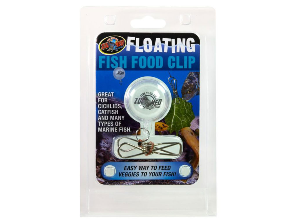 Clema plutitoare hrana Zoo Med Floating Fish Food Clip