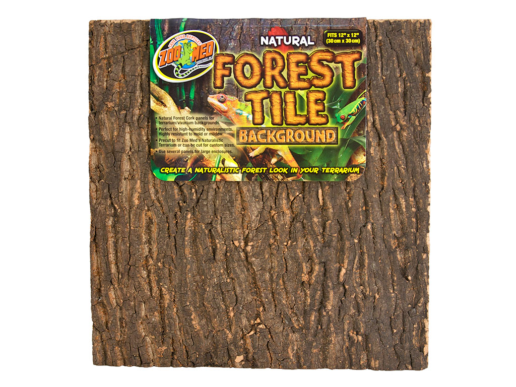 Background Natural Zoo Med Natural Forest Tile 45x61 Cm