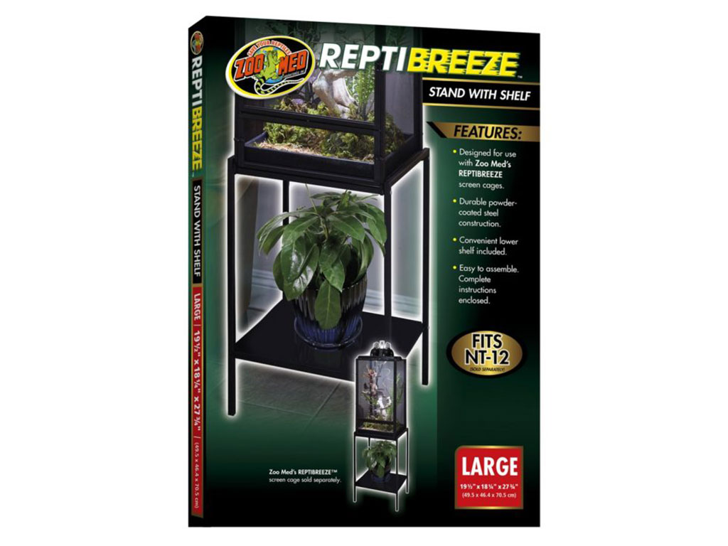Terariu Zoo Med ReptiBreeze Stand with Shelf large