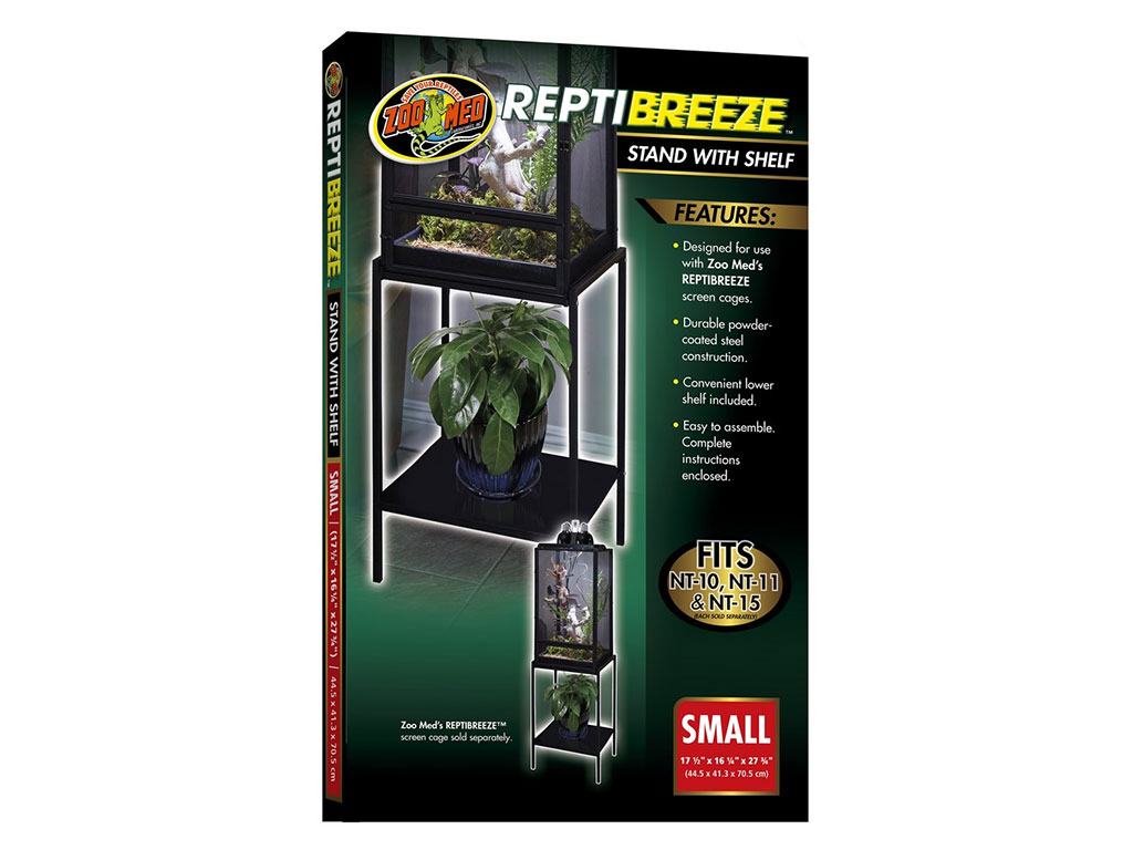 Terariu Zoo Med ReptiBreeze Stand with Shelf small