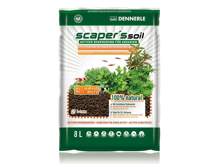 Sol nutritiv Dennerle Scapers Soil 1-4mm 4l