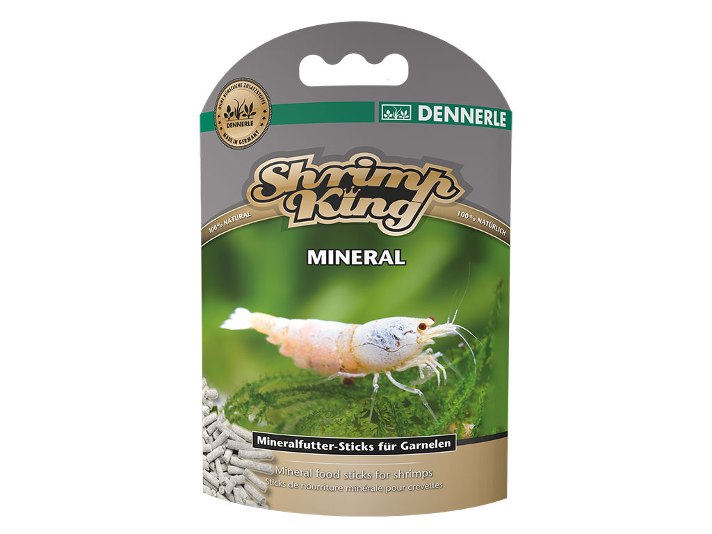 Shrimp King Mineral - Mineral fish food INT
