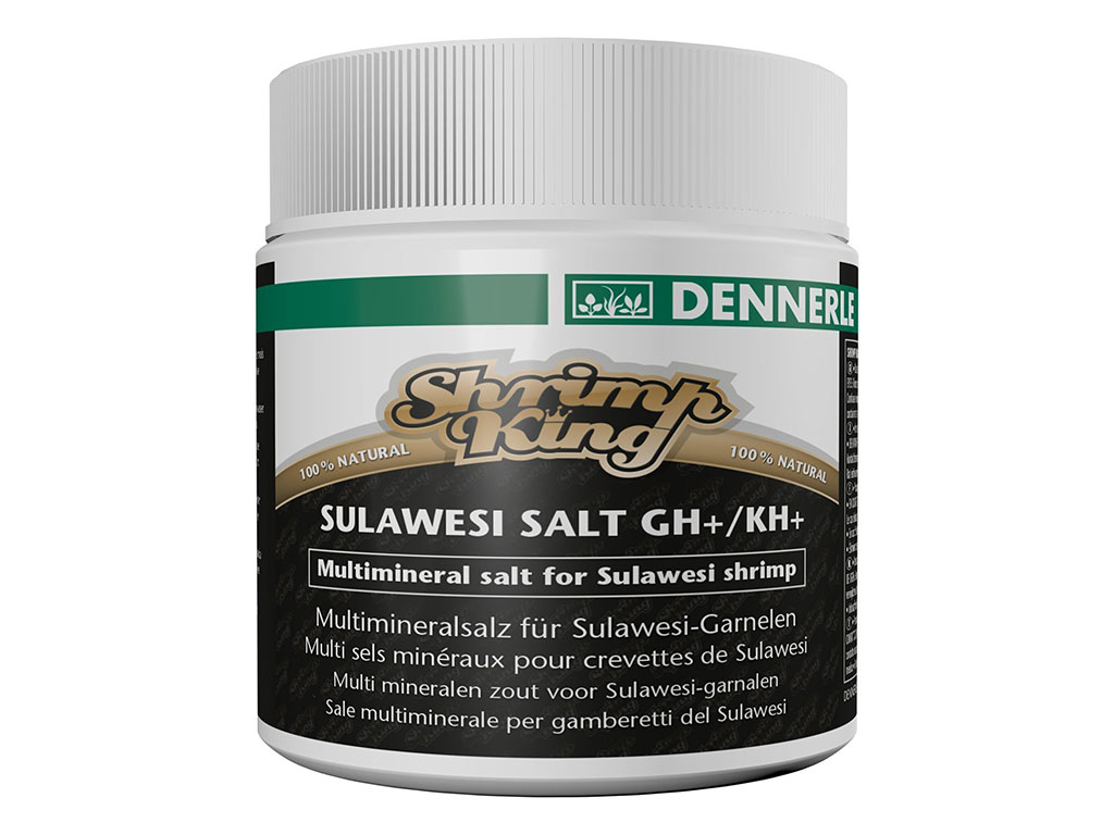 Conditioner creveti Dennerle Shrimp King Sulawesi Salt 200g