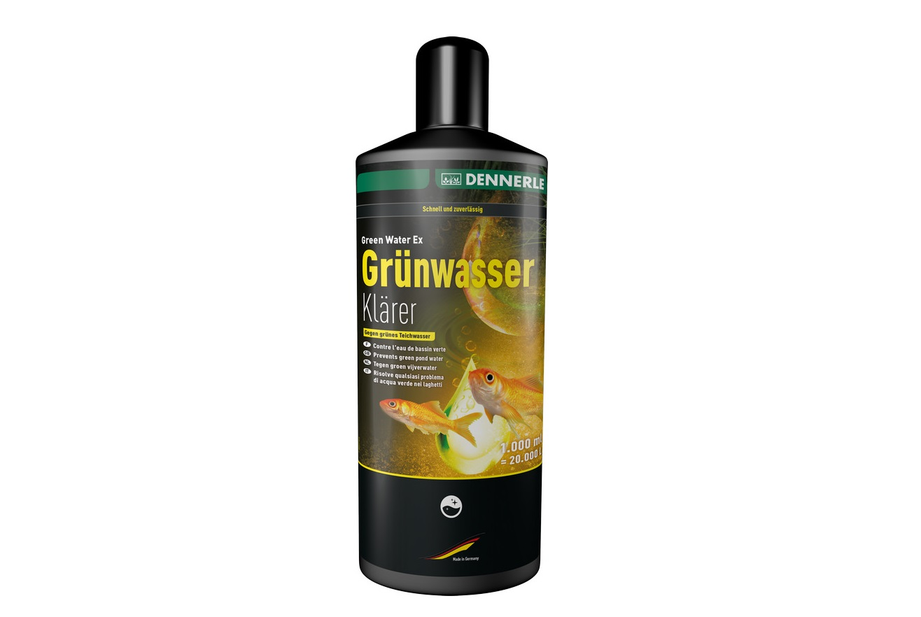 Algicid apa verde Dennerle Green Water Clearer 1000ml