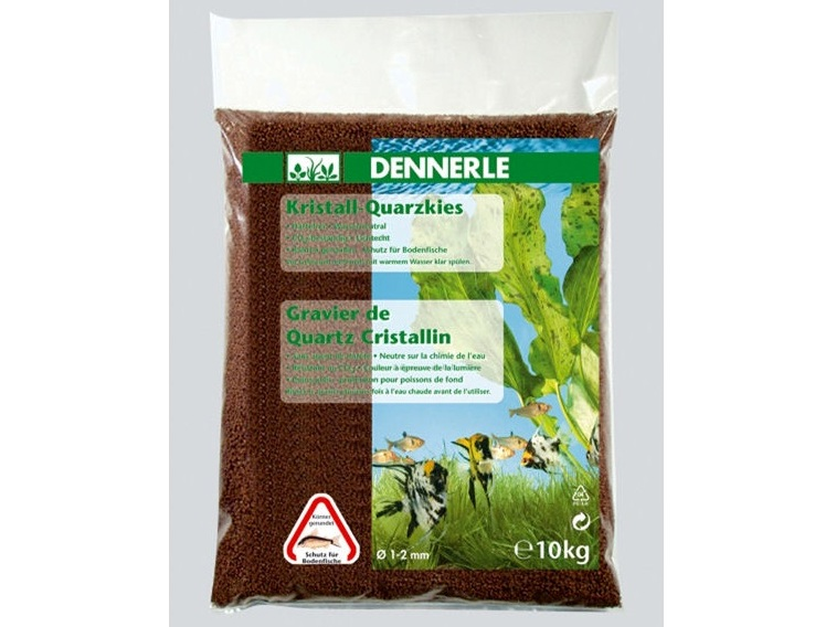 Nisip Dennerle Crystal Quartz Gravel Dark Brown - 5 kg