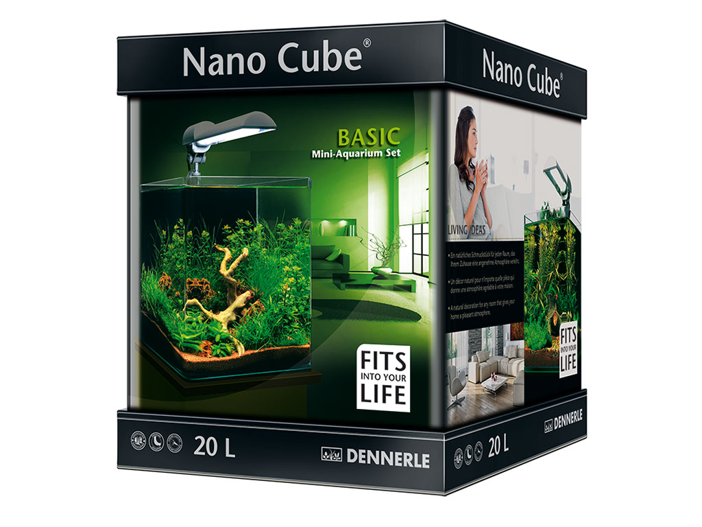 acvariu dennerle nano cube basic 20l. Black Bedroom Furniture Sets. Home Design Ideas