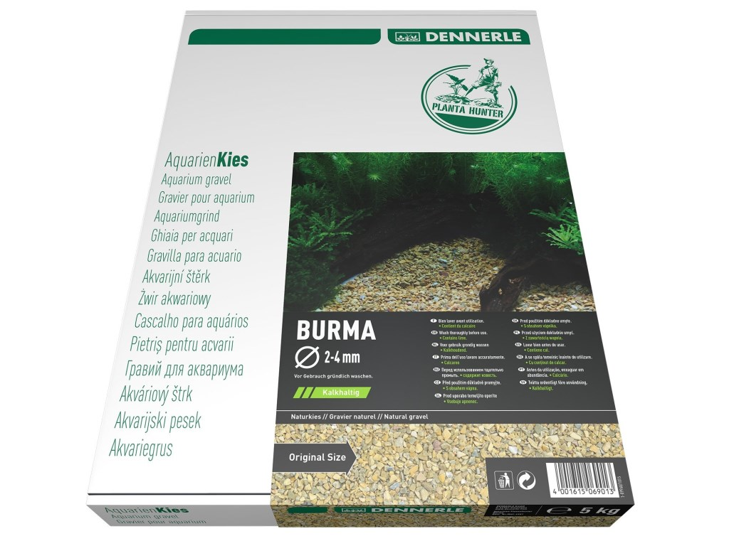 Nisip natural Dennerle Plantahunter Burma 2-4mm 5kg