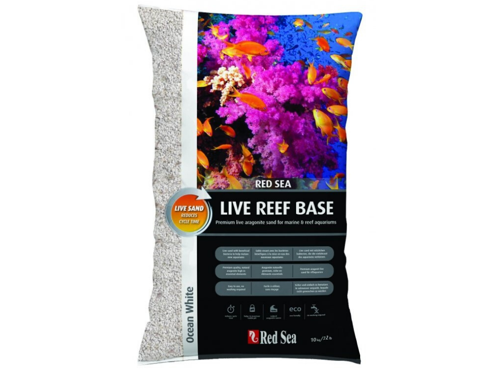 Substrat acvariu Red Sea Live Reef - Base Ocean White (10Kg)
