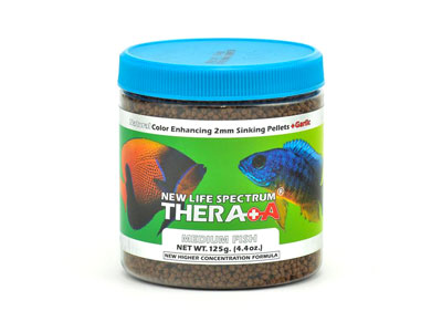 Hrana New Life Spectrum Thera+A medium fish usturoi 2mm 125g