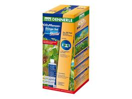 Set CO2 Dennerle plant fertilizer Bio Starter