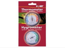 Set termometru si higrometru Hobby analogice thumbnail