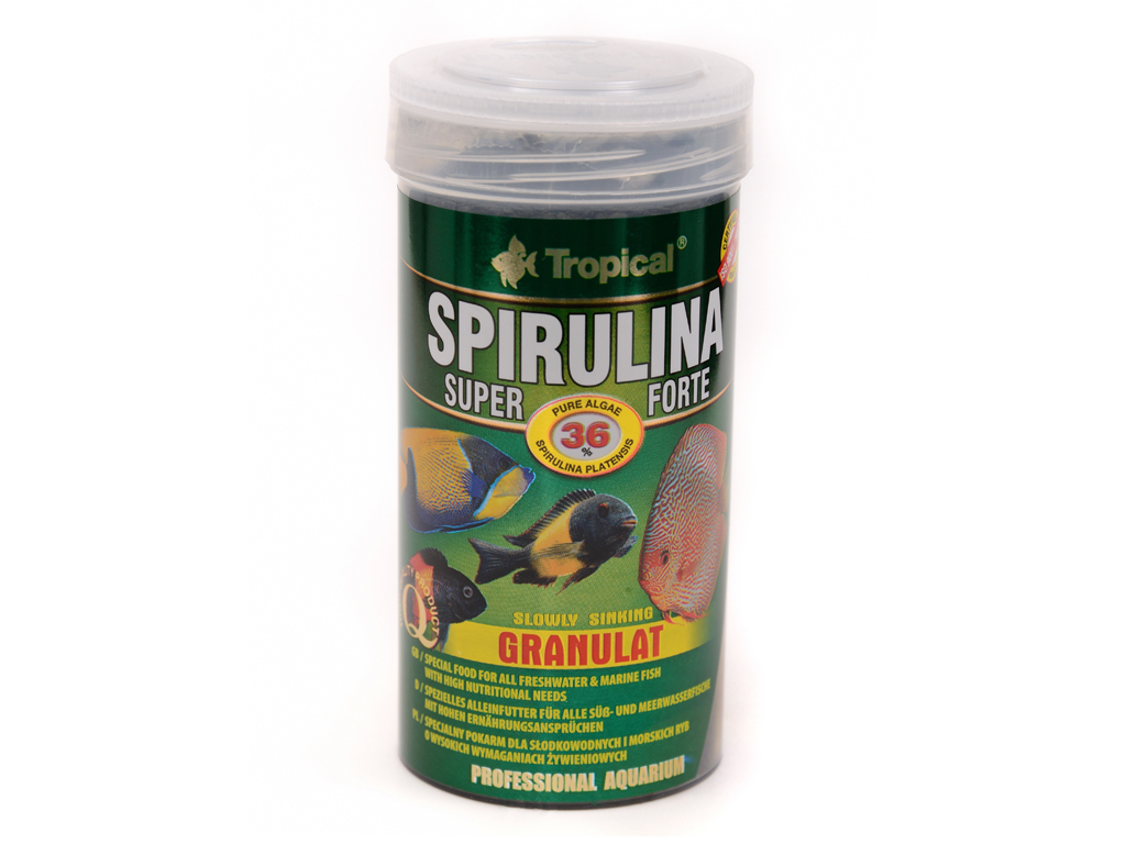 Tropical Super Spirulina Forte Granulat 250ml/95g